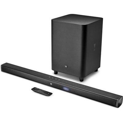 מקרן קול אלחוטי  JBL 3.1-Channel 4K Ultra HD Soundbar with Wireless Subwoofer