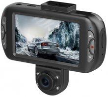 מצלמת דרך לרכב מצלמת וידאו דו כיוונית לרכב ביחידה אחת  ''3 Proviosion PR-2500CDV Full HD