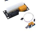 מפסק ללוח אם  Foxconn USB WatchDog Double Relay 24Hrs Blue Screen Unattended Automatic Restart