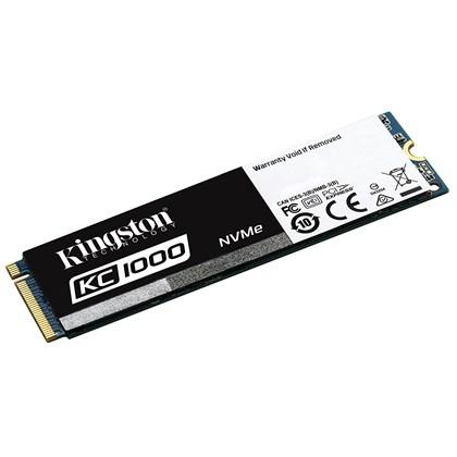 כרטיס פלאש קינגסטון Kingston 480GB SSD KC1000 NVME PCIE