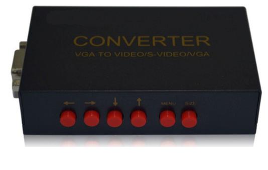 ממיר צג מחשב לטלוויזיה PC To TV RCA/S-VIDEO/VGA