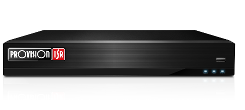 מערכת הקלטה אבטחה היברידית פרוויז'ן עצמאית ל-5 מצלמות Provision SH-4100A-2L 1080P Lite 2Mega Pixel AHD Real Time 1TB DVR+ 1Port IP Standalone HDMI
