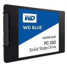 דיסק פלאש ווסטרן דיגיטל Western Digital WDS250G2B0A Blue 250GB SSD SATA3 6GB/S 560/530 MB/s