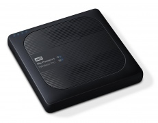 דיסק קשיח חיצוני ווסטרן דיגיטל אלחוטי שחור Western Digital My Passport WIRELESS PRO Wi-Fi 3TB Black