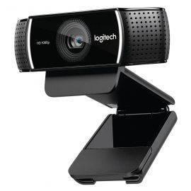 מצלמת אינטרנט לשיחות ועידה ולסטרימים עם מיקרופון לוג'יטק Logitech C922 Pro Stream Webcam Full HD 1080p Retail