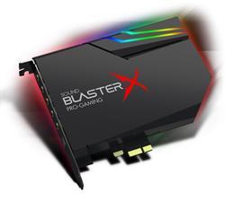 כרטיס קול פנימי לגיימרים קריאטיב 7.1 ערוצים כולל יציאה אופטית Creative Sound BlasterX AE-5 70SB174000000 Hi-Resolution PCIe Gaming Sound Card and DAC with RGB Aurora Lighting System