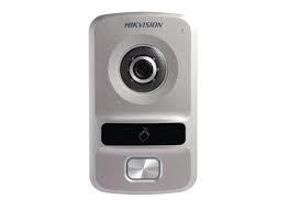 מערכת אינטרקום יחידת דלת כולל מצלמה פנימית  Hikviosion IP DS-KV8102-VP 1.3MP 720P