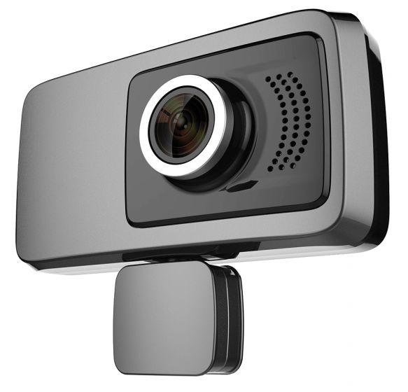 מצלמת דרך וידאו דו כיוונית לרכב מיקרופון ורמקול מובנים זוויות צפייה NOVOGO NV22 LCD 3Inch Full HD 1080p 140°