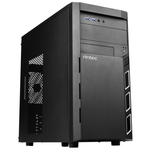 מארז אנטק Antec VSK 3000 ELITE USB3.0 x 2 1x120mm Mini Tower Black