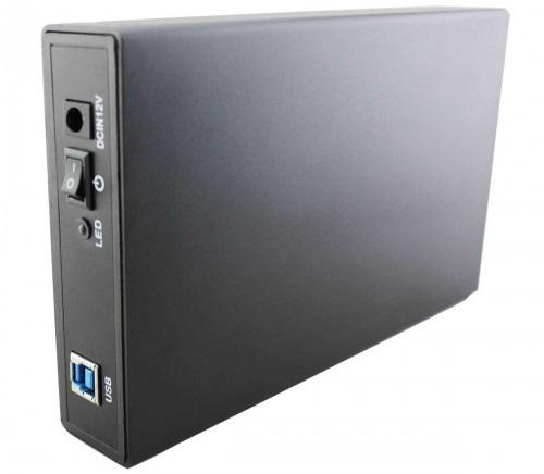 מארז לדיסק קשיח 3.5 אינצ' חיצוני בחיבור Protec DM163 Aluminium SATA3 3.5'' enclosure USB 3.0