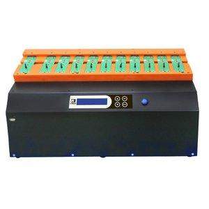 מערכת לשכפול 10 דיסקים קשיחים מבוססי U-Reach PE1100
