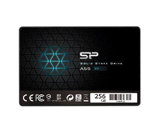 דיסק פלאש סיליקון פאוור Silicon Power Ace A55 256GB SSD SATA3 7mm read up to 550MB/s write up to 500MB/s