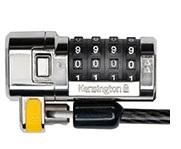 כבל מנעול 4 ספרות למחשב נייד קנגסינגטון Kensington K64697 ClickSafe Combination Laptop Lock