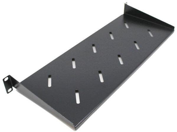 מדף קבוע עבור ארון תקשורת Oem 19'' Shelf - 30cm Deep