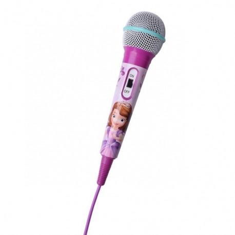מיקרופון נייד ורוד Disney Cars Handheld  Microphone