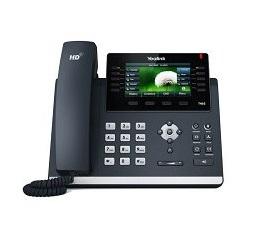 טלפון חוטי איי פי ייליניק Yealink SIP T46S IP Phone 4.3'' 480X272