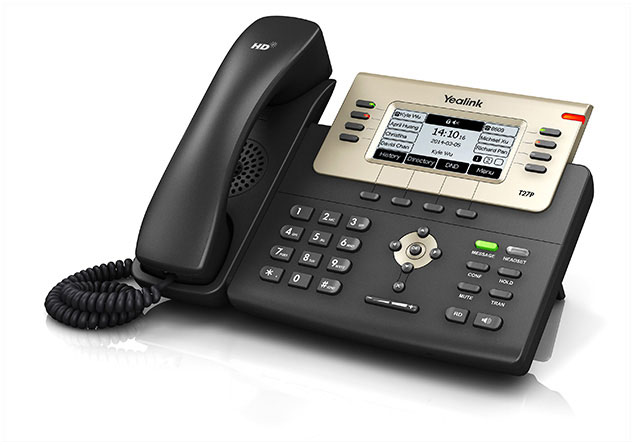 טלפון חוטי איי פי ייליניק Yealink SIP T27G IP Phone 240X120