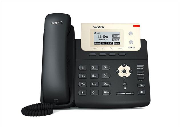 טלפון חוטי איי פי ייליניק Yealink SIP T21P E2 IP Phone 132X64