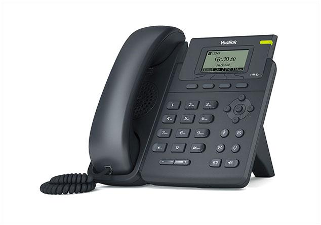 טלפון חוטי איי פי ייליניק Yealink SIP T19P E2 IP Phone 132X64