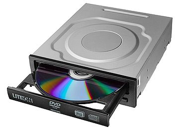צורב פנימי לייט און Lite-On iHAS124 DVD-RW x24 SATA Dual Layer Super Multi