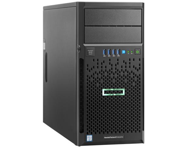 שרת HPE ML30 Gen9 Tower Intel Xeon Processor E5-1220 V5 3.00Ghz 8GB RAM 2X1TB Free Dos