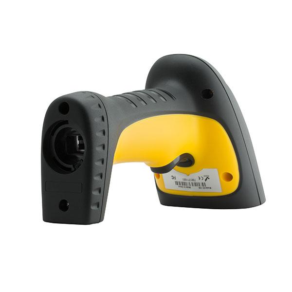 קורא ברקוד לייזר תעשייתי שחור צהוב gtcodestar GT-730  USB 200 Scans/Sec