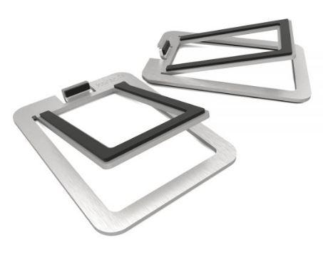 תוספת מעמד לרמקולים Kanto S2 Desktop Speaker Stands for Small Speakers Aluminum