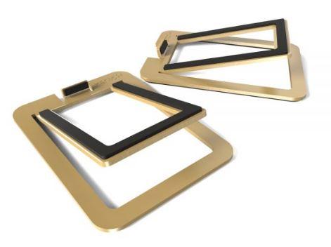 תוספת מעמד לרמקולים Kanto S2 Desktop Speaker Stands for Small Speakers Brass