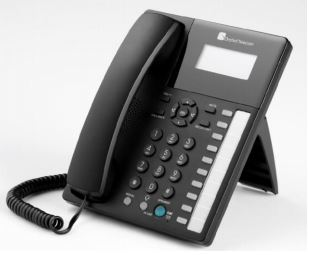 טלפון אנלוגי שולחני לבית או לעסק כולל מעמד שולחני ייחודי כולל דיבורית עם טווח של 5 מטר לשיחות ועידה 220 Headsetil Tel