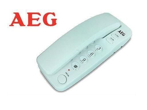 טלפון שולחני לבן AEG TALS1000