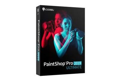 תוכנה לעריכת תמונות קורל פיינט שופ פרו 2019  Corel PaintShop Pro 2019 Ultimate