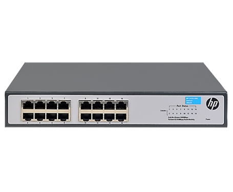 רכזת מתג רשת סוויצ' HPE JH016A OfficeConnect 1420-16G Switch