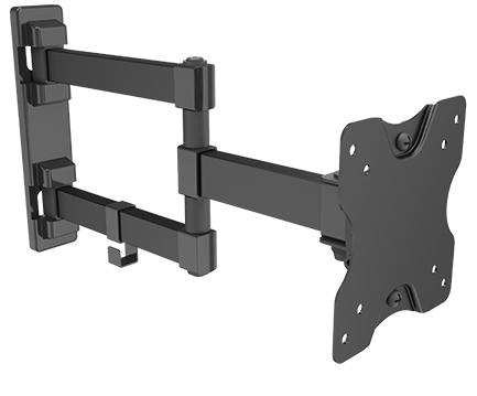 זרוע 3 מפרקים חיבור לקיר למסכים עד 32 תקן Audio Line SP100 VESA 75mm&100mm