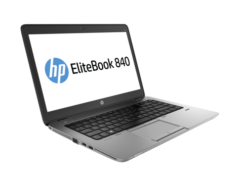 מחשב נייד מוחדש HP 840G1 Elitebook Intel Core i5-4300 2.9Ghz 14'' HD 8GB RAM SSD 240GB HDD Win10 Pro Silver-Black