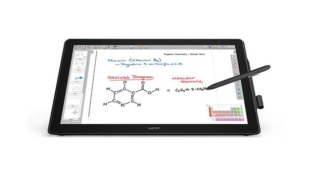 לוח לחתימה דיגיטלית מסך אינטראקטיבי Wacom DTH-2452 23.8'' interactive P&T display dark grey