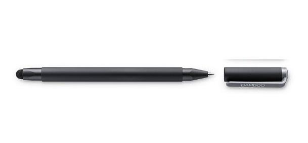 עט ללוח כתיבה גרפי וואקום Wacom CS-191 Bamboo Stylus duo4 black