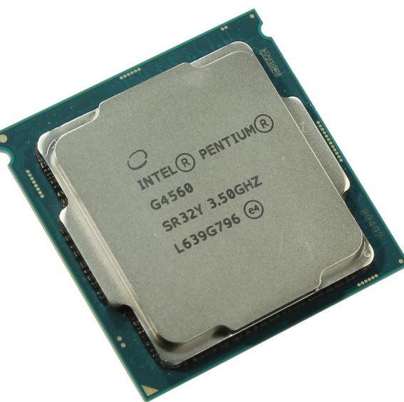 מעבד דור 6 אינטל 2 ליבות Intel Pentium Dual Core G4560 3.5GHz 3MB LGA1151 2 Cores Tray