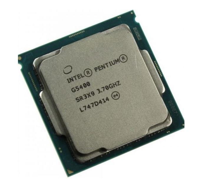 מעבד דור 8 אינטל 2 ליבות Intel® Pentium Gold G5400 3.7GHz 4MB LGA1151 2 Cores  Tray