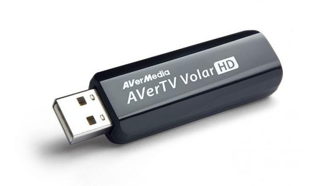כרטיס טלוויזיה אנלוגי חיצוני תומך עידן פלוס AverMedia PC TV TUNER AVerTV Volar HD-USB