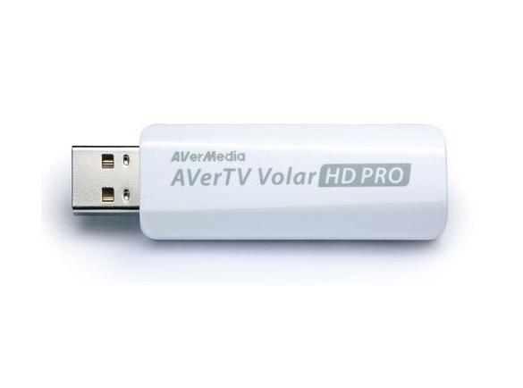 כרטיס טלוויזיה אנלוגי חיצוני תומך עידן פלוס AverMedia 61A835DV00AC PC TV TUNER AVerTV Volar HD PRO-USB