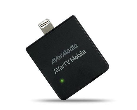 כרטיס טלוויזיה אנלוגי פנימי לאפל תומך עידן פלוס AverMedia Mobile 330 MOBILE TV TUNER AVerTV Mobile 330 for iOS