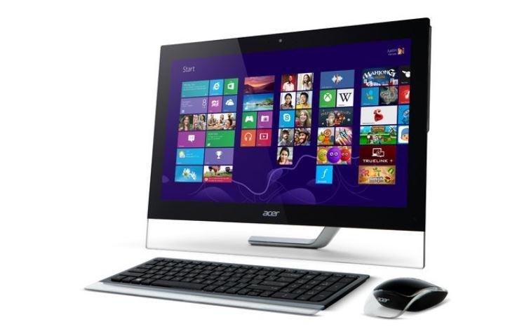 מערכת מחשב אייסר מסך מגע מחודש ACER AU5-610 All in One 23'' Touch Full HD Intel Core i5-4200M 3.10GHz 8GB RAM 1TB HDD GTX760m Win8