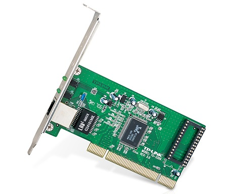 כרטיס רשת פנימי TP-Link TG-3269 Gigabit PCI Network Adapter 10/100/1000Mbps PCI