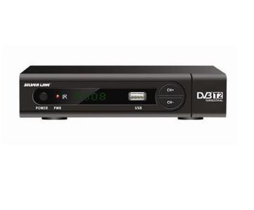 מקלט דיגיטלי לשידורי טלוויזיה לשידורי עידן פלוס Silver line HDVB-T2