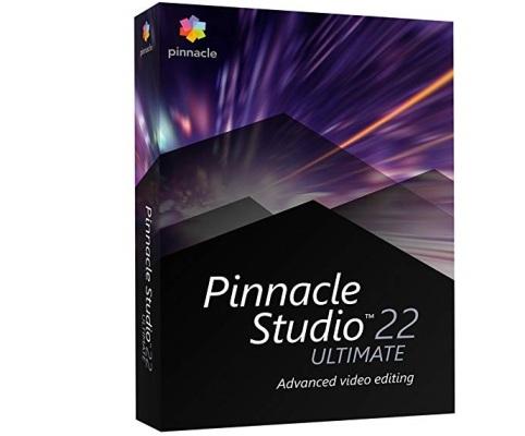 תוכנה ליצירת סרטים מקצועית פינקל סטודיו אולטימייט Pinnacle Studio 22 Ultimate PNST22ULMLEU