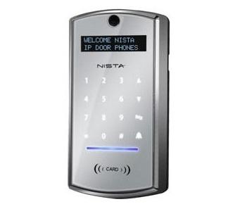 מערכת אינטרקום לדלת יחידת דלת כולל מצלמה פנימית  Nista Devices IP39-40ACR All-in-One SIP Video Door Phone
