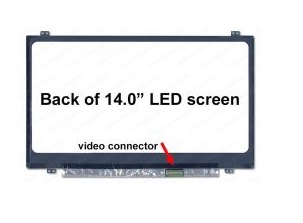 מסך למחשב נייד 14 LED SLIM 30 PIN HD N140FGE-EA2 inches