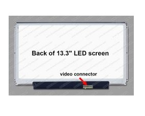 מסך למחשב נייד 13.3 Led Slim 30pin left&right bars N133BGE-E31 inches