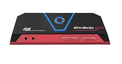 מערכת הקלטה מקצועית לגיימרים AVERMEDIA GC513 Live Gamer Portable 2 Plus 4K