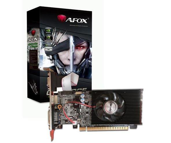 כרטיס מסך AFOX N-Vidia Geforce AF210-1024DLL3 GT 210 1GB DDR3 64bit PCIe VGA,DVI,HDMI